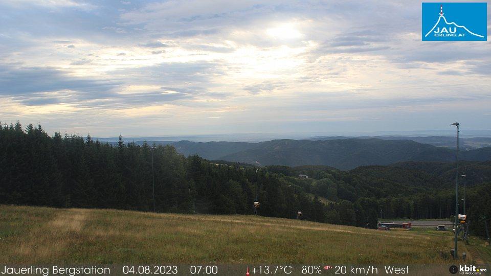 HD Webcam Bild Bergstation