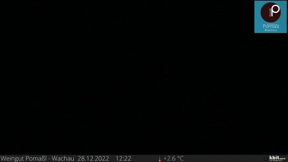 Webcam Weingut Pomaßl - Blickrichtung Dürnstein